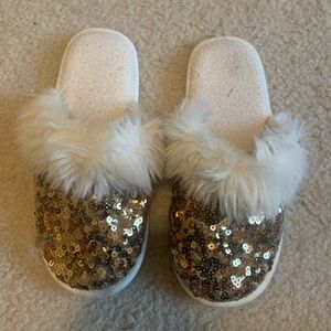 Pottery Barn teen slippers